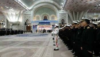 تجدید میثاق فرماندهان و کارکنان نیروی دریایی ارتش با امام(ره)