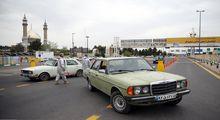 محدودیت تردد در عوارضی قم-تهران +عکس