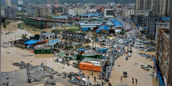 تلفات طوفان در شرق چین به 28نفر رسید+عکس