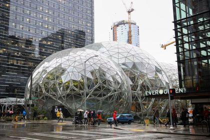 افتتاح ساختمان جدید آمازون در سیاتل +تصاویر