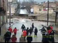 تخریب کامل پل اناری خرمآباد +فیلم