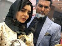 تیپ جدید ساره بیات در کنار زوج هنریاش! +عکس