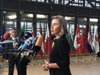موگرینی: منفعت امنیتی اروپا در حفظ برجام است