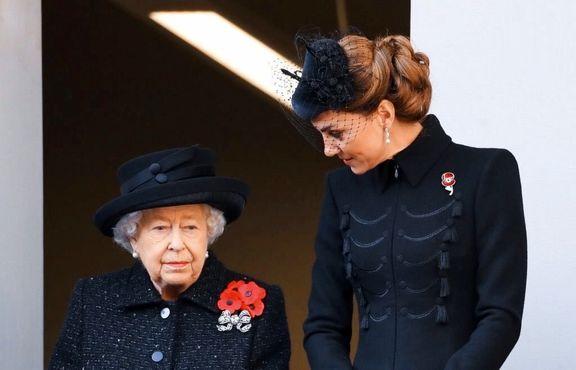 اشک ملکه انگلیس در آمد