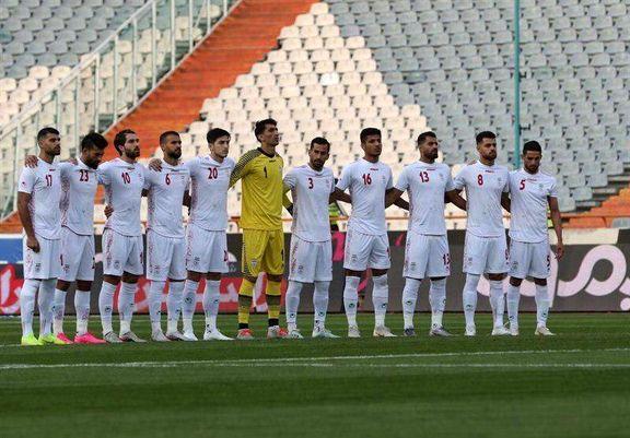 سقوط فوتبال ایران در ردهبندی فیفا