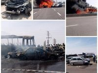 7کشته در تصادف اتوبان تهران – ساوه