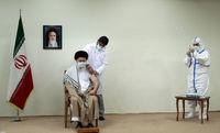دریافت دُز دوم واکسن ایرانی کرونا توسط رهبر معظم انقلاب + عکس