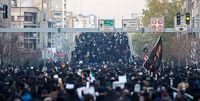 تشییع پیکر شهدا از دانشگاه تهران به میدان آزادی آغاز شد