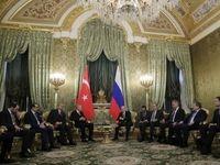دیدار اردوغان و پوتین در مسکو +تصاویر