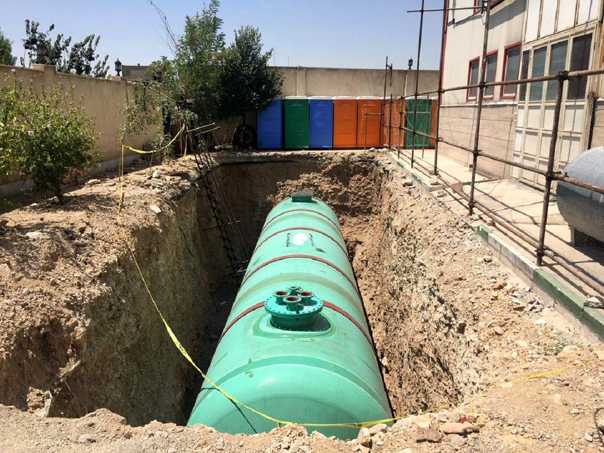 رونمایی از ۳۰مخزن آب شرب اضطراری شهر تهران