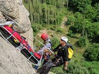 تمرین مشترک تیم امداد و نجات کوهستان ایران و آلمان