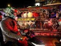 اتوبوسهای عجیب و غریب در فیلیپین +تصاویر