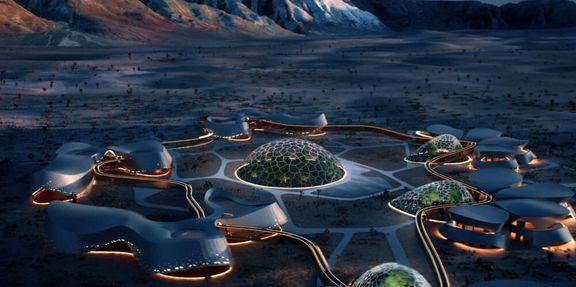 تصاویری از زندگی آینده در مریخ
