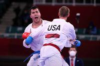 کاراته کای آمریکایی مغلوب گنج زاده شد