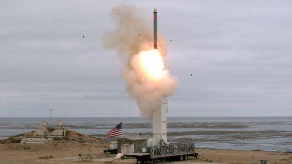 آمریکا موشک کروز آزمایش کرد
