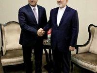 وزرای امور خارجه ایران و جمهوری آذربایجان دیدار کردند