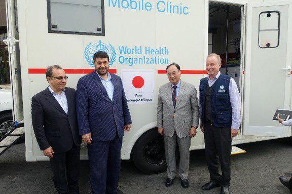 ژاپن: اهدای کلینیک سیار به سیلزدگان ایران +عکس