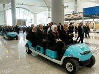 رانندگی اردوغان با خودرویی متفاوت +عکس