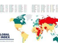 رتبه ضدتروریستی ۱۶۳ کشور جهان