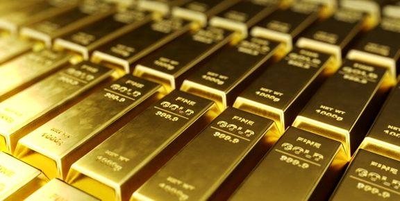قیمت اونس طلا باز هم کاهش یافت
