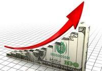 دلار ۹۰تومان رشد کرد