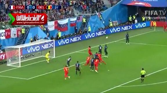 صعود فرانسه به فینال جام جهانی +فیلم