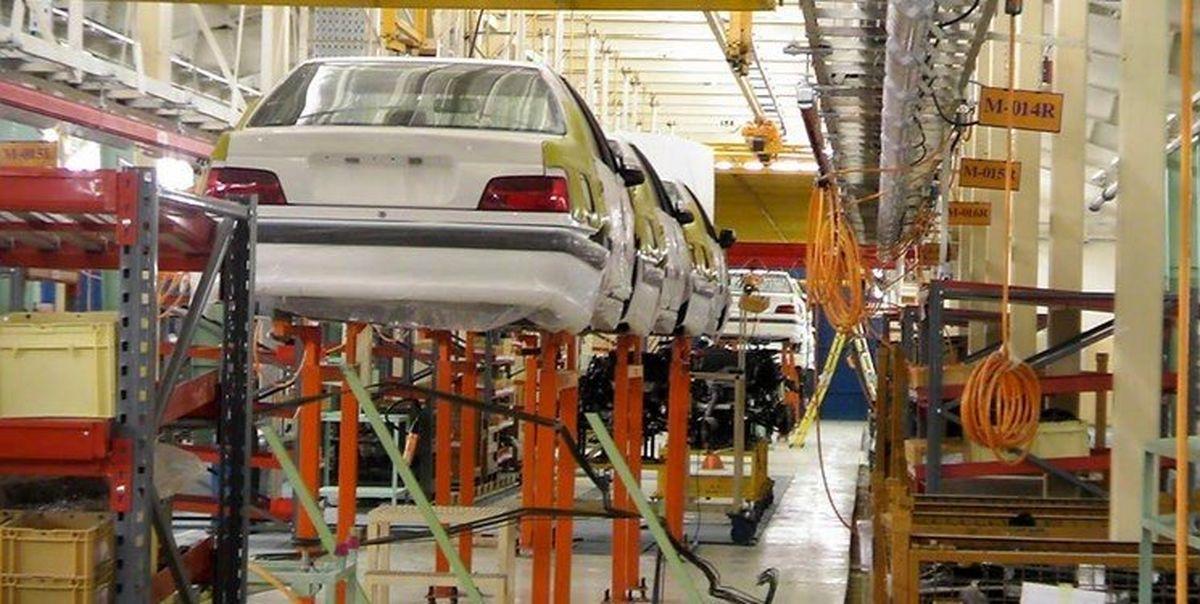 افزایش ۲۲ درصدی تولید خودرو تا ابتدای شهریور امسال