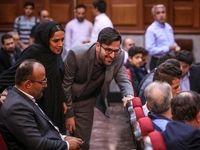 دختر و داماد نجفی در دادگاه +تصاویر