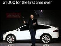 سهام تسلا رکورد تاریخی خود را ثبت کرد