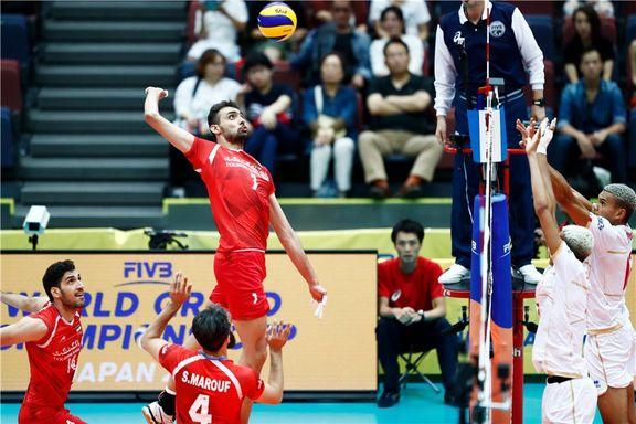 والیبال ایران طلسم فرانسه را شکست