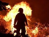 مرگ مرد جوان در میان شعلههای آتش در دولتآباد