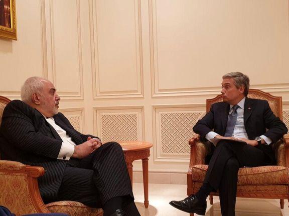 گفتوگوی ظریف و وزیر خارجه کانادا