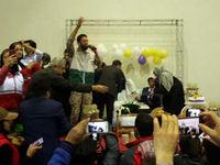 برگزاری جشن ازدواج زوج آققلایی +عکس