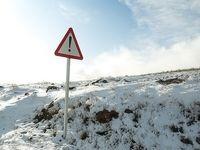 بارش برف در ارتفاعات قزوین +عکس