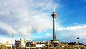 کاهش نسبی دمای تهران تا روز آینده
