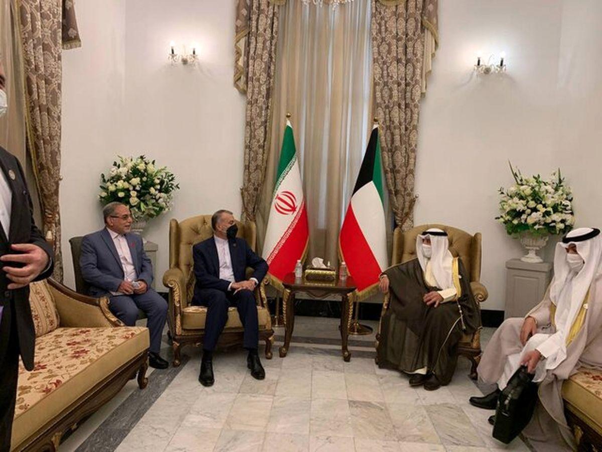 وزرای امور خارجه ایران و کویت دیدار کردند