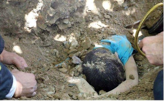 مرگ دلخراش کودک مشهدی زیر خاکهای کامیون