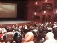تشویق تماشاگران سوری بعد از دیدن به وقت شام +فیلم