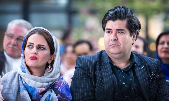 سالار عقیلی در کنار همسرش +عکس