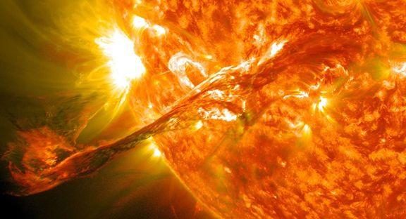 عکسی باور نکردنی از خورشید