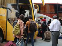 ۷ میلیون نفر عید امسال با اتوبوس سفر کردند