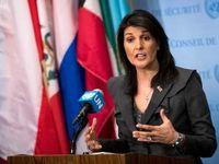 بیانیه هیلی درباره وتوی قطعنامه ضد ایرانی