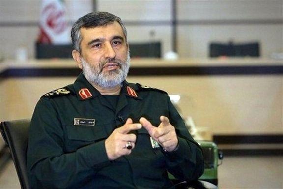 صحبتهای تکاندهنده فرمانده سپاه در مورد سقوط هواپیما