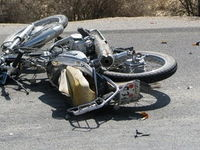تصادف زنجیرهای موجب فوت یک نفر شد