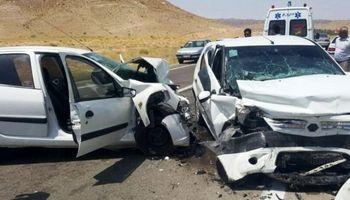 حادثه رانندگی ۲کشته داشت