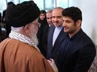 دیدار علیرضا کریمی و خانوادهاش با رهبر انقلاب +تصاویر