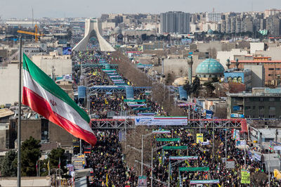محدودیتهای ترافیکی راهپیمایی ۲۲ بهمن در پایتخت