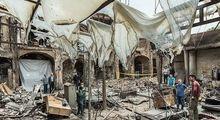 بازار تاریخی تبریز 2هفته پس از آتشسوزی +تصاویر