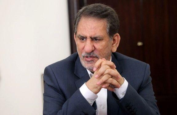 جهانگیری: در صورت عدم صادرات نفت ایران، اقدام لازم را انجام میدهیم
