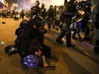 ادامه تظاهرات خشونت آمیز در هنگ کنگ +فیلم